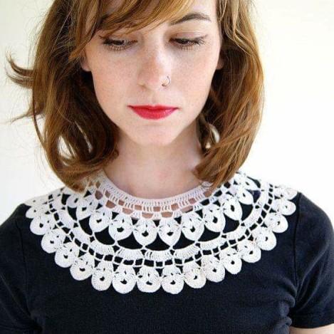 #collar#yaka#lace #dantel #handcraft #handmade