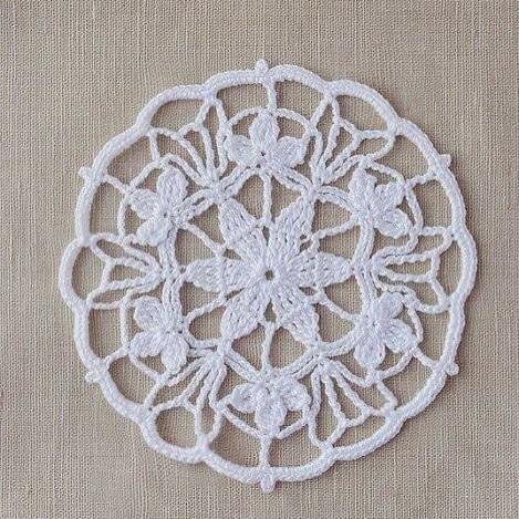 #lace #doily#dantel #handcraft #handmade