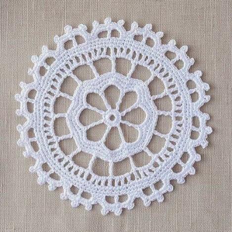 #lace #dantel #handcraft #handmade ##doily