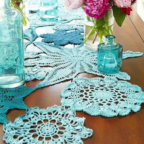 #doily #lace #dantel #colourfullace #renklidantel #handcraft #handmade